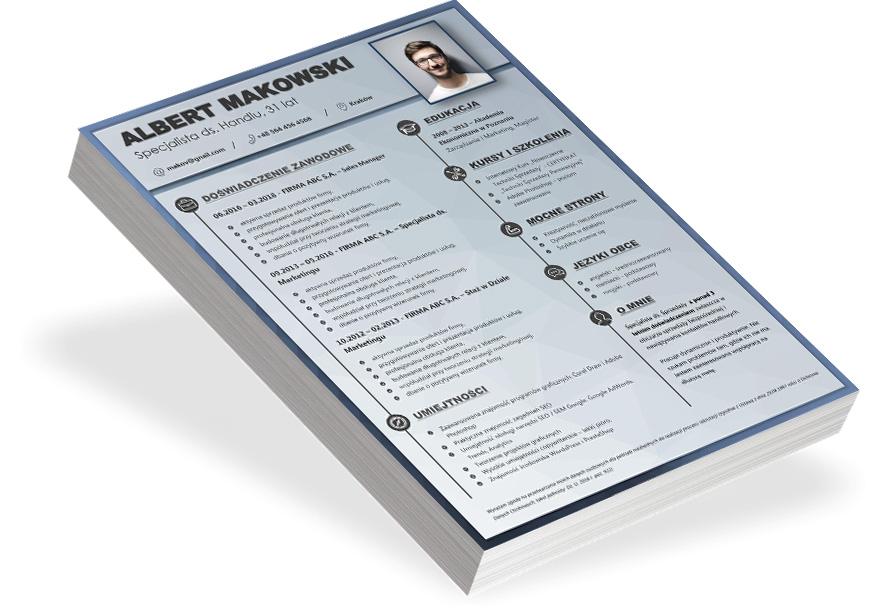cv graficzne checklista