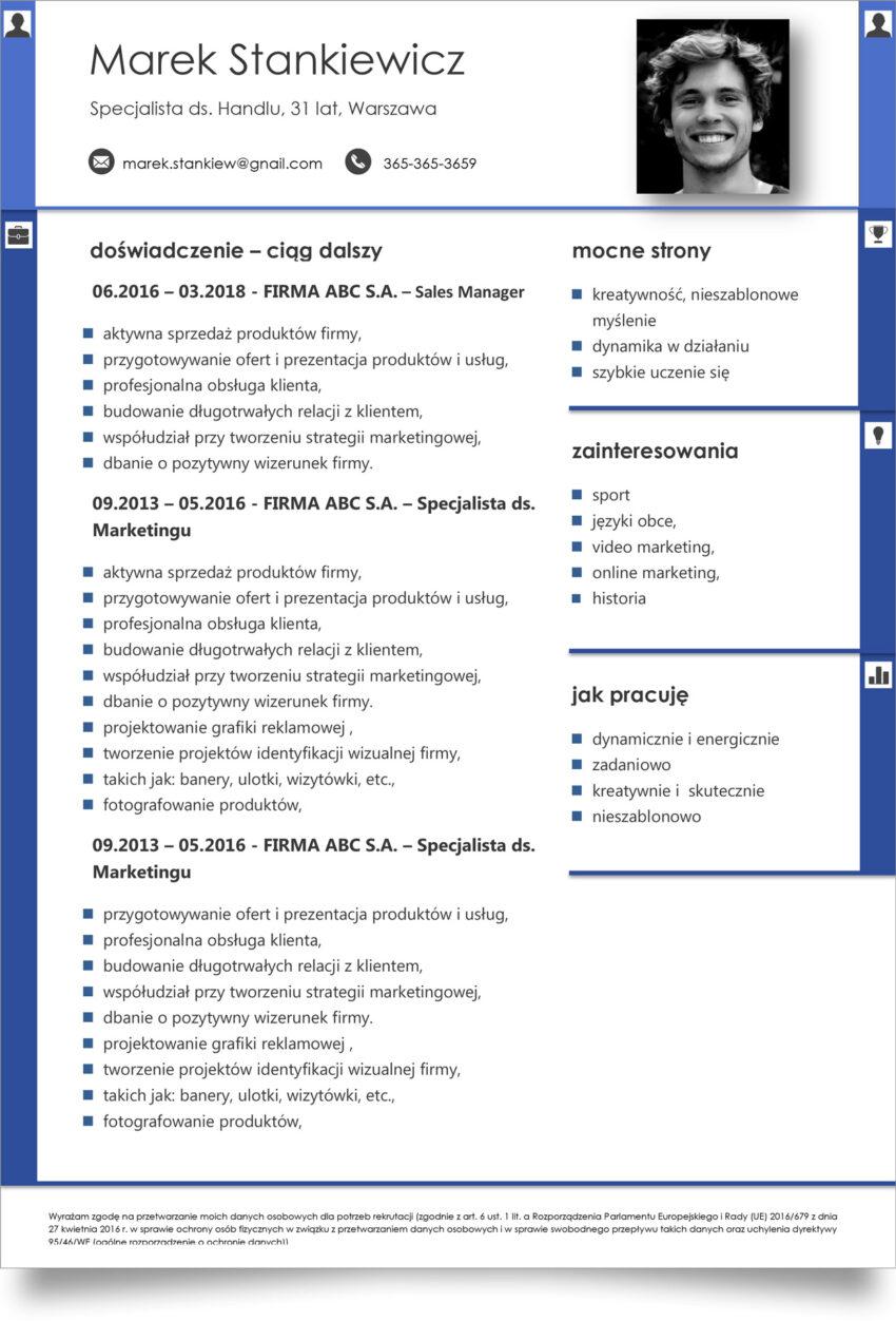 ciekawe cv pdf / doc